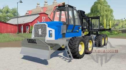 Rottne F20ᴰ для Farming Simulator 2017