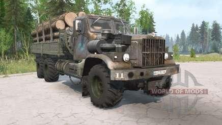 КрАЗ-255Б состаренный для MudRunner