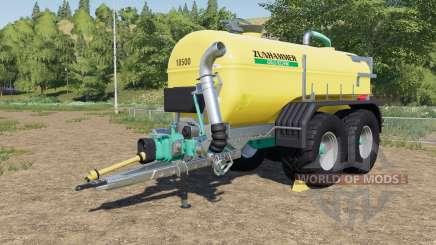 Zunhammer SKE 18.5 PUD with halved consumption для Farming Simulator 2017