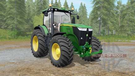 John Deere 7280R-7310R для Farming Simulator 2017