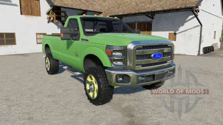 Ford F-350 Super Duty Regular Cab 2011 для Farming Simulator 2017
