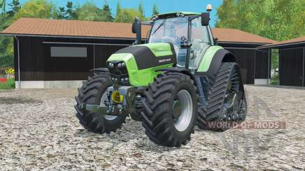 Deutz-Fahr 7250 TTV Agrotron Rowtrac для Farming Simulator 2015