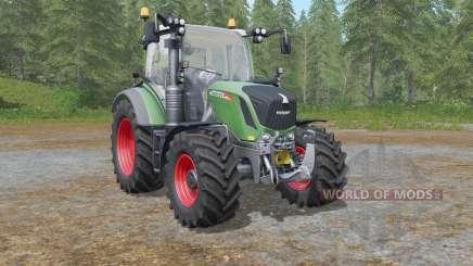 Fendt 500 Vario with all-round lights для Farming Simulator 2017