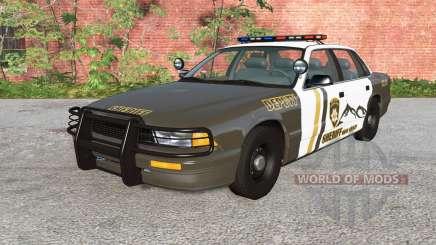 Gavril Grand Marshall Mano County Sheriff v1.1 для BeamNG Drive