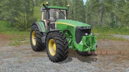 John Deere 8120-8520 для Farming Simulator 2017