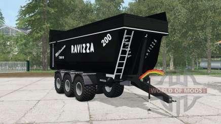 Ravizza Millenium 7200 SI black для Farming Simulator 2015