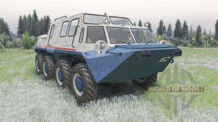 ГАЗ-59037 v2.0 для Spin Tires