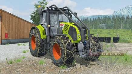 Claas Axion 850 Forest Edition для Farming Simulator 2013
