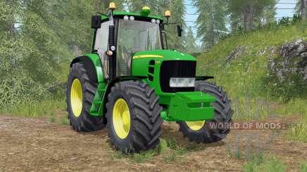 John Deere 7430 Premiuɱ для Farming Simulator 2017