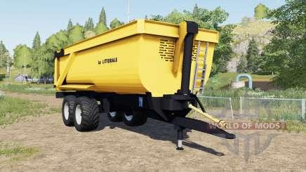 La Littoralᶒ C 240 для Farming Simulator 2017