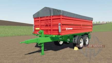 Farmtech TDƘ 1600 для Farming Simulator 2017
