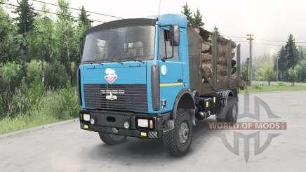 МАЗ-5434 v1.2 для Spin Tires