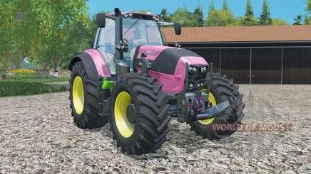 Deutz-Fahr 7250 TTV Agrotron Ladies Edition для Farming Simulator 2015
