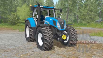 New Hollanᵭ T7.240 для Farming Simulator 2017