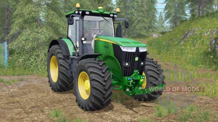 John Deere 7280R & 7310R для Farming Simulator 2017