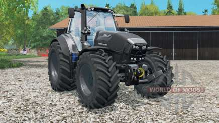 Deutz-Fahr 7250 TTV Agrotron Black Editioᵰ для Farming Simulator 2015