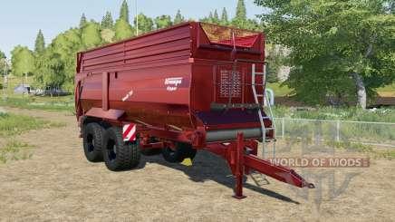 Krampe Bandit 750 XM для Farming Simulator 2017