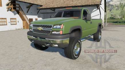 Chevrolet Silverado 2500 HD Regular Cab 2006 для Farming Simulator 2017