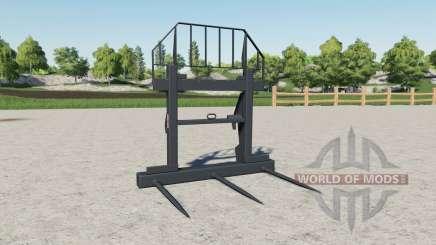 Вилы для тюков Magsi для Farming Simulator 2017