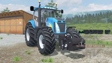 New Hollanᵭ T8020 для Farming Simulator 2013