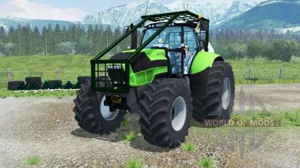 Deutz-Fahr Agrotron TTV 630 Forest Edition для Farming Simulator 2013
