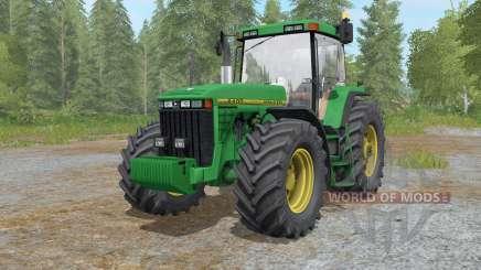 John Deere 8400 anᵭ 8410 для Farming Simulator 2017