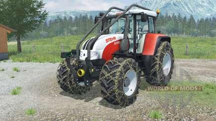 Steyr 6195 CVT Forest Edition для Farming Simulator 2013