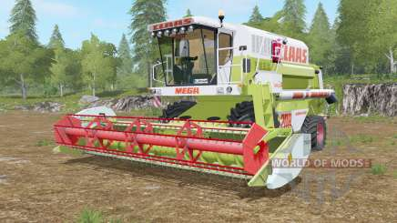 Claas Mega 208 Dominator для Farming Simulator 2017