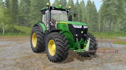John Deere 7280R&7310R для Farming Simulator 2017