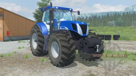 New Hollanᵭ T7070 для Farming Simulator 2013