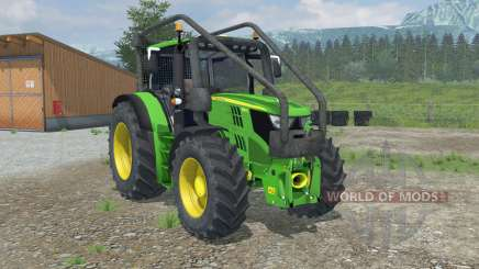 John Deere 6150R Forest Edition для Farming Simulator 2013
