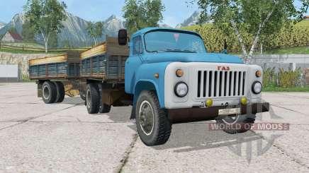ГАЗ-САЗ-3507 с прицепом для Farming Simulator 2015