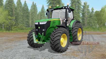 John Deere 7280R&7310R fixed для Farming Simulator 2017