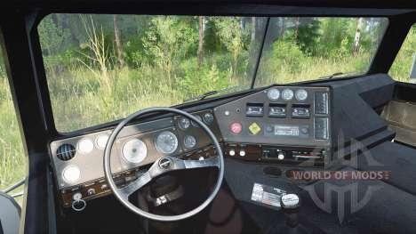 Freightliner FLA для Spintires MudRunner