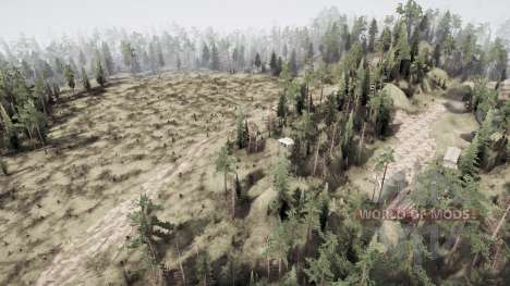Plain Hills для Spintires MudRunner