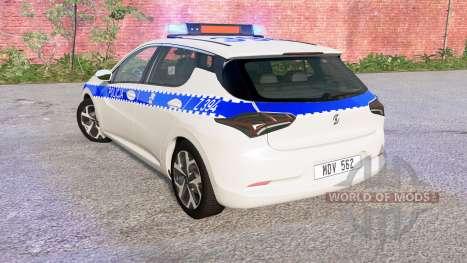 Cherrier FCV Polish Police для BeamNG Drive