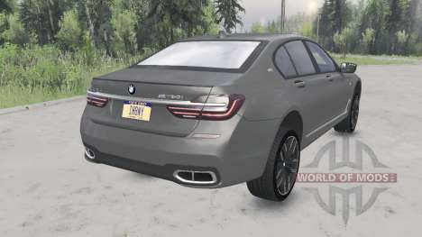 BMW M760i xDrive (G11) 2017 для Spin Tires