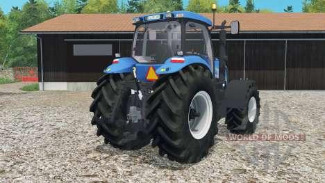 New Holland T8020 для Farming Simulator 2015