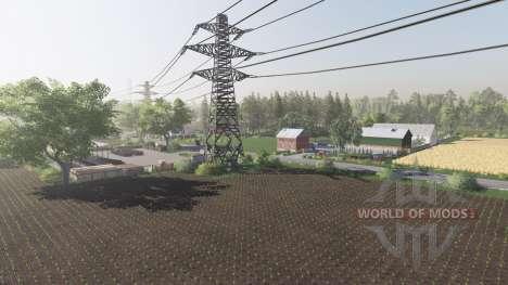 Wiesniakowo для Farming Simulator 2017