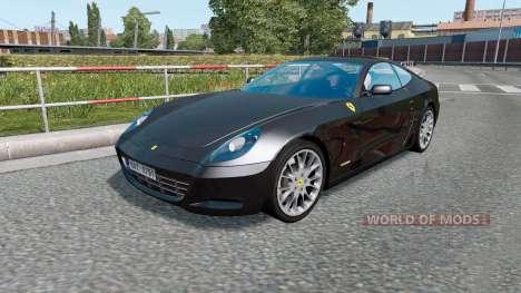 Sport Cars Traffic Pack для Euro Truck Simulator 2