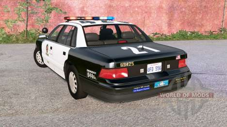 Gavril Grand Marshall LAPD для BeamNG Drive