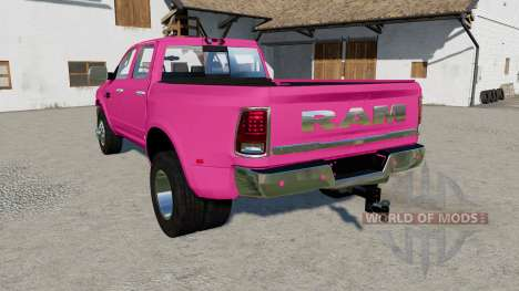 Ram 3500 Heavy Duty Crew Cab 2016 для Farming Simulator 2017