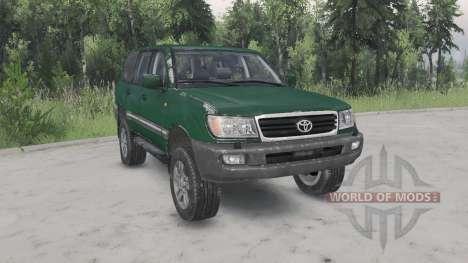 Toyota Land Cruiser 100 VX 2005 v1.2 для Spin Tires