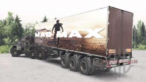 КрАЗ-255Б Mad Max для Spin Tires