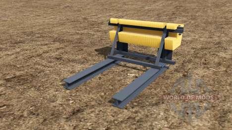 Rear Ballast Set from 0,5 to 5 tons для Farming Simulator 2017