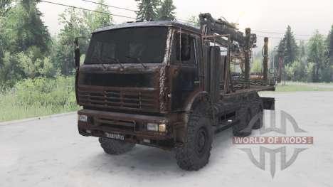 КамАЗ-6522 для Spin Tires