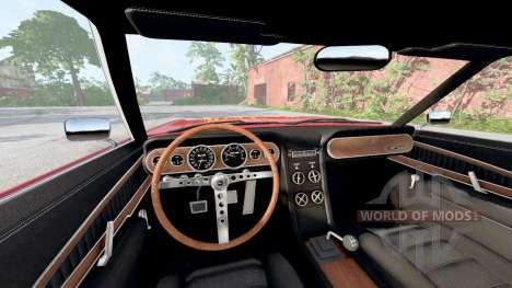 Gavril Barstow Lightning McQueen для BeamNG Drive