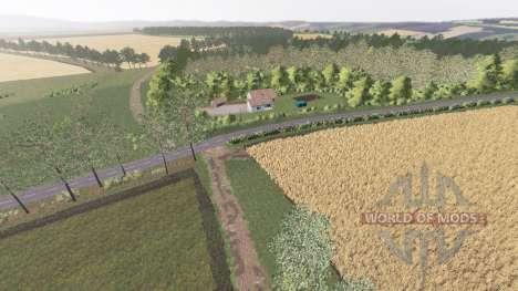 Sutton Farm для Farming Simulator 2017