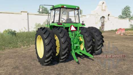 John Deere 7000 для Farming Simulator 2017