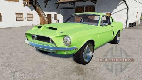 Shelby ԌT500 1968 для Farming Simulator 2017